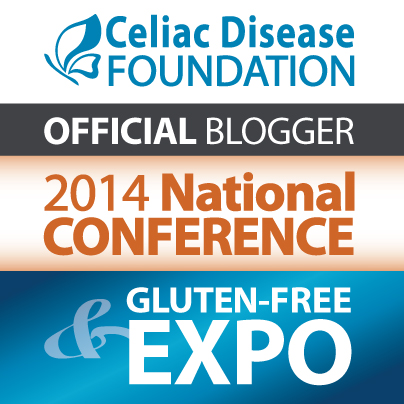 Celiac Disease Foundation - Official Blogger - 2014 National Conference & Gluten Free Expo