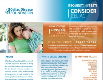 Celiac Info Cards