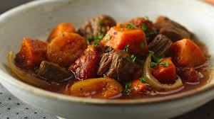 Beef Stew & Potatoes