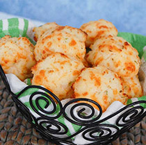 Buttermilk Cheddar-Onion Biscuits