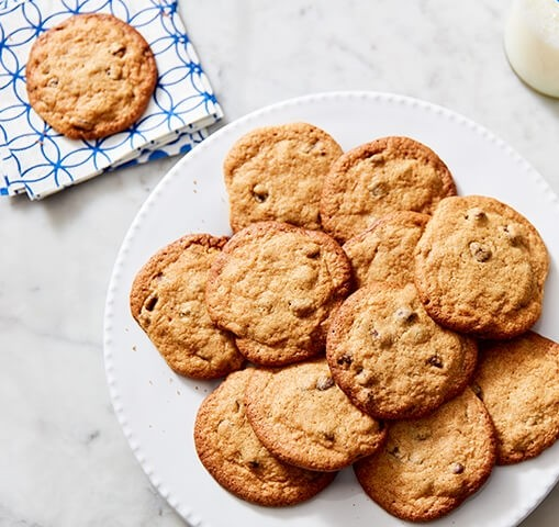 Chewy Chocolate Chip Cookies with Cauliflower