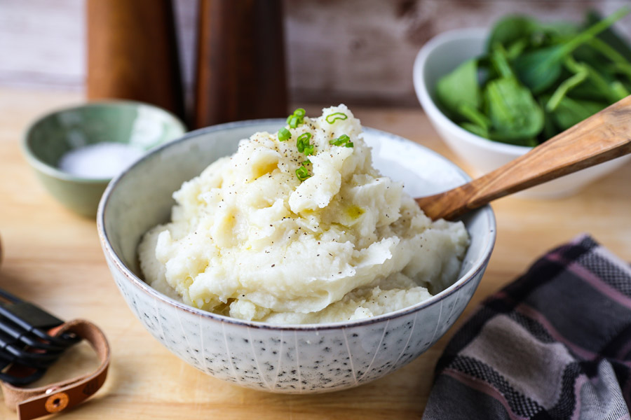 Rice Cooker Mashed Potatoes