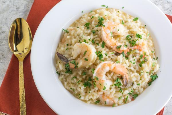 Fody's Low FODMAP Shrimp Risotto