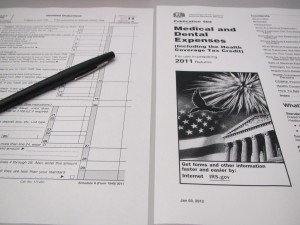 Medical Deduction Tax Forms
