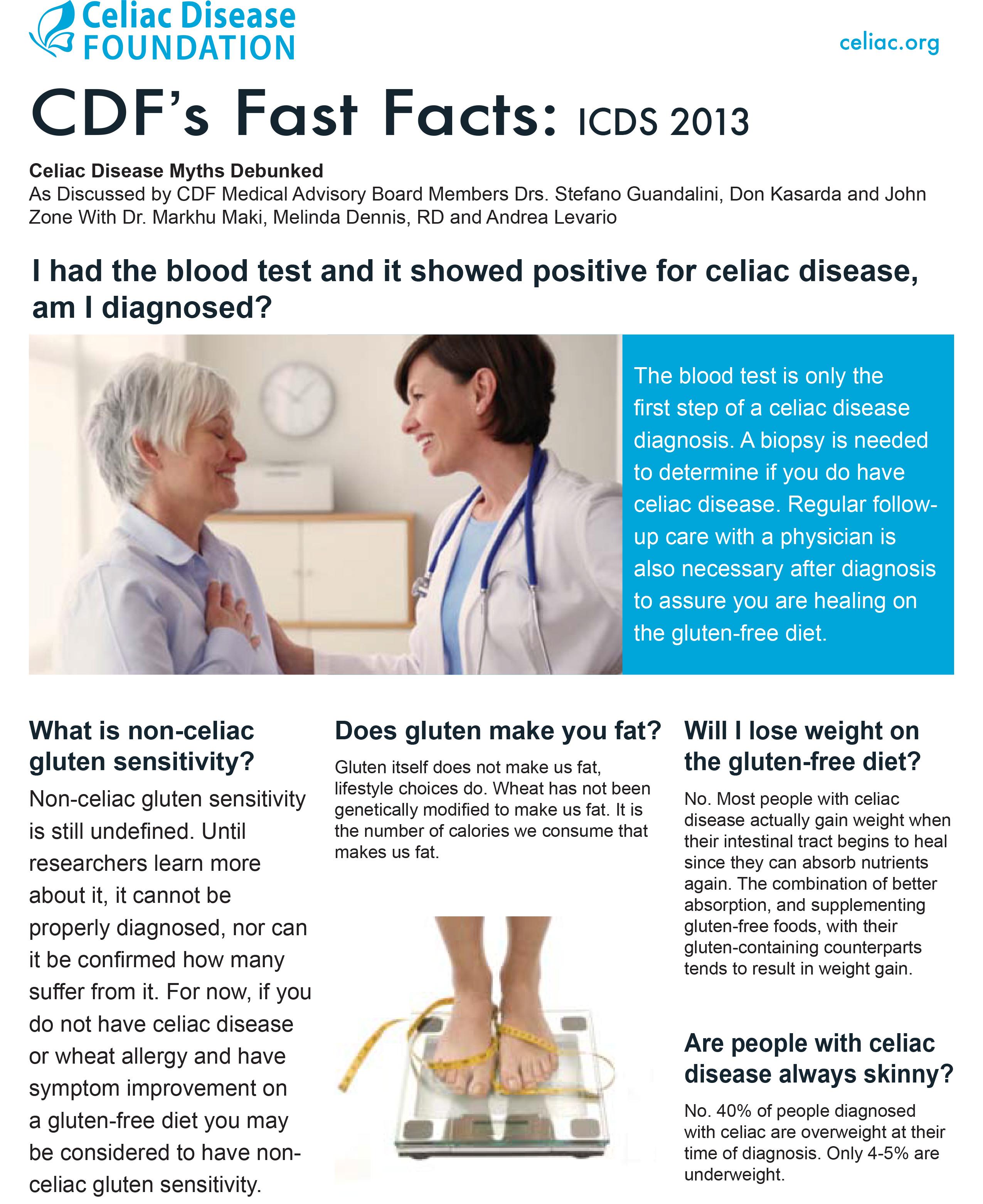 Celiac Disease Myths Debunked at International Celiac ...