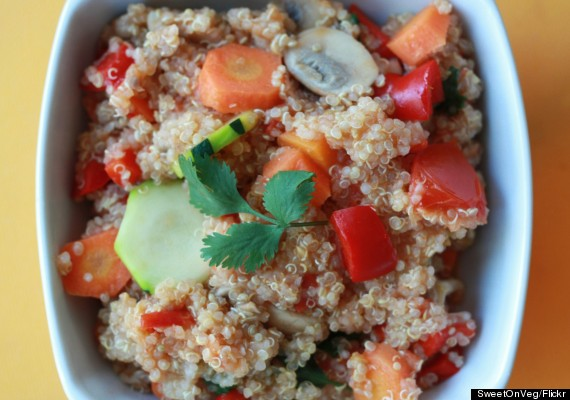 quinoa and fruit