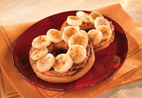 banana bagel